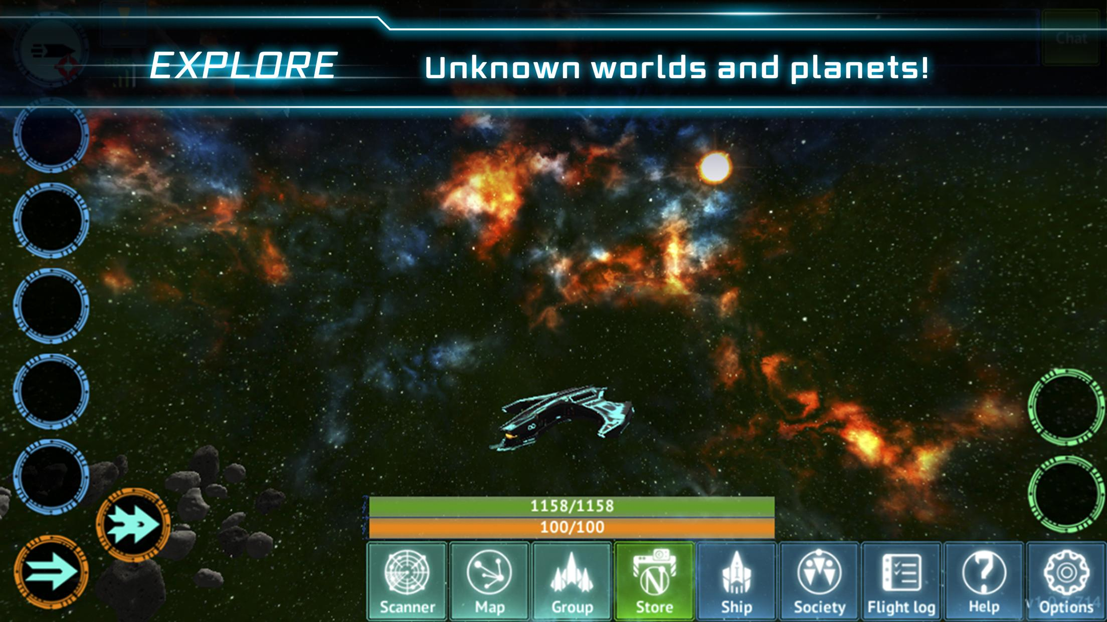 Nebula Online™ - Sci-Fi MMORPG for Android - APK Download
