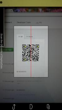 DeployGate apk screenshot