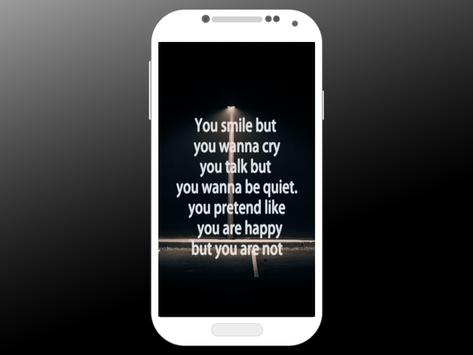 Depression Quote Wallpapers screenshot 4