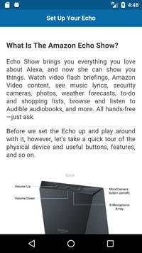 Complete guide for Echo Show screenshot 1