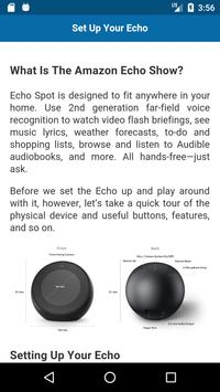 User Guide for Echo Spot screenshot 1