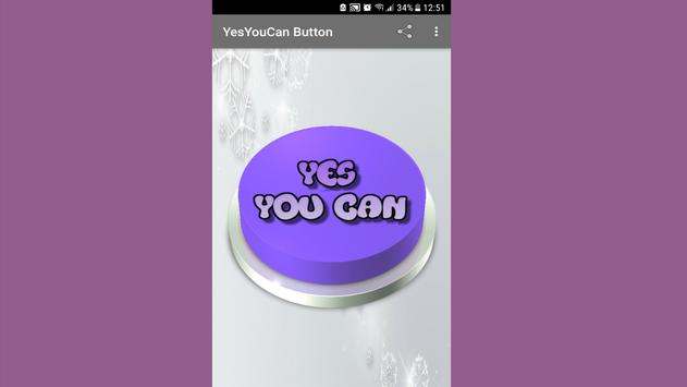 YesYouCan Button apk screenshot