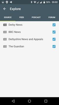Derby free news apk screenshot