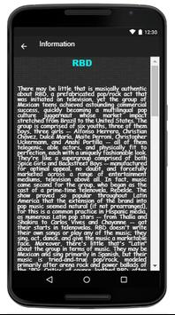 RBD Song & Lyrics screenshot 2