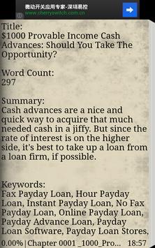 1500 Personal Finance Tips apk screenshot