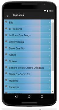 Ricardo Arjona Song & Lyrics screenshot 3