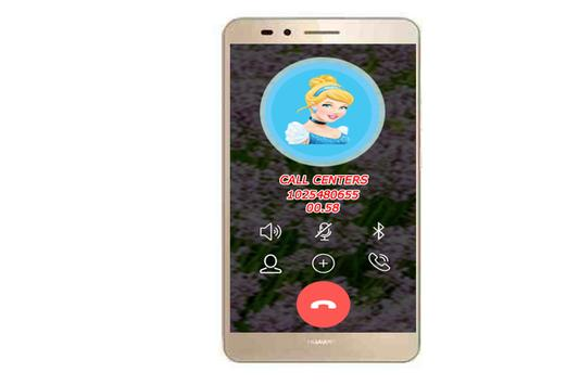 fake call Princess screenshot 1