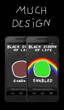 Black Screen of Life poster