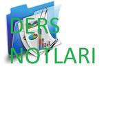 Ders Notları icon