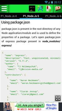 Learn Node Express apk screenshot