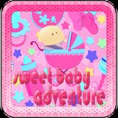 Sweet baby born:kids adventure icon