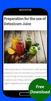 Detox Water Drink Chemical Compound apk screenshot