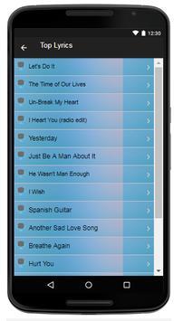 Toni Braxton Song & Lyrics screenshot 3