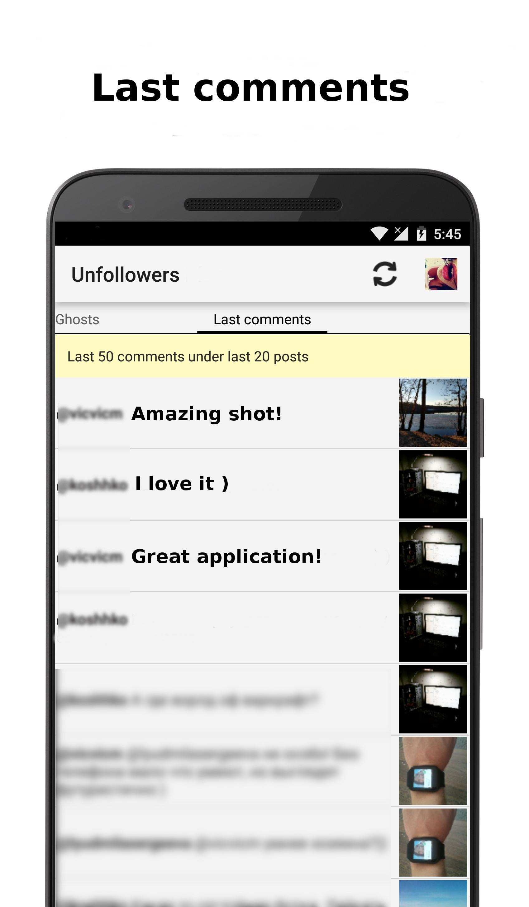 Unfollowers for Android - APK Download