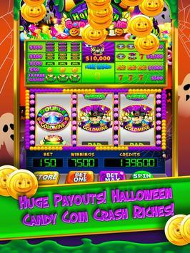 Halloween Candy Vegas Slots Mega Slot Machine FREE poster