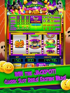 Halloween Candy Vegas Slots Mega Slot Machine FREE screenshot 1