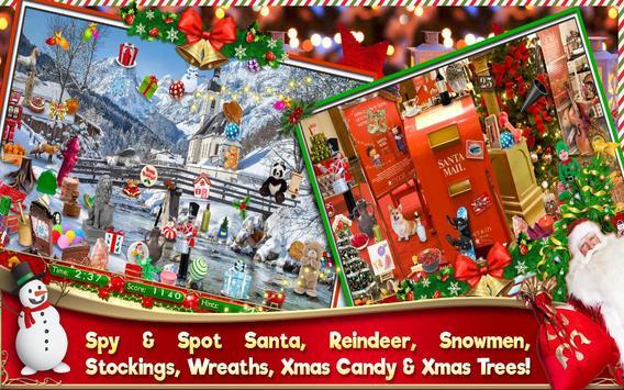 Hidden Object Christmas Celebration Holiday Puzzle screenshot 4