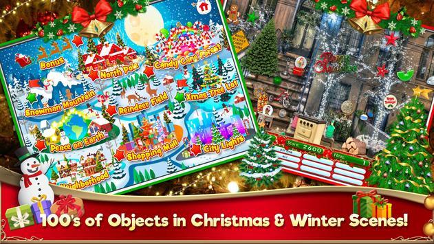 Hidden Object Christmas Celebration Holiday Puzzle screenshot 12