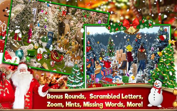 Hidden Object Christmas Celebration Holiday Puzzle screenshot 3