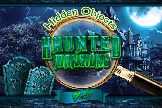 Hidden Object Haunted Mansion - Halloween Objects poster