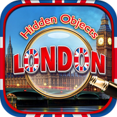 Hidden Object London Adventure - Spot Objects Game icon