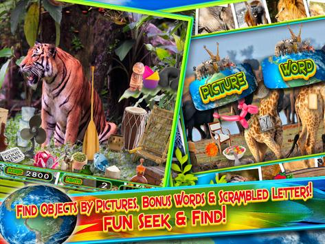 Hidden Objects Animal World - Puzzle Object Games screenshot 4