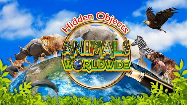Hidden Objects Animal World - Puzzle Object Games screenshot 5