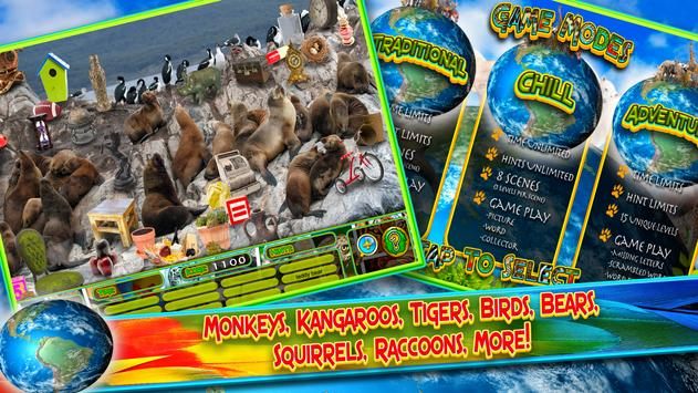 Hidden Objects Animal World - Puzzle Object Games screenshot 8