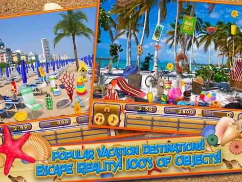 Hidden Objects Summer Beach - Hawaii Object Game screenshot 3