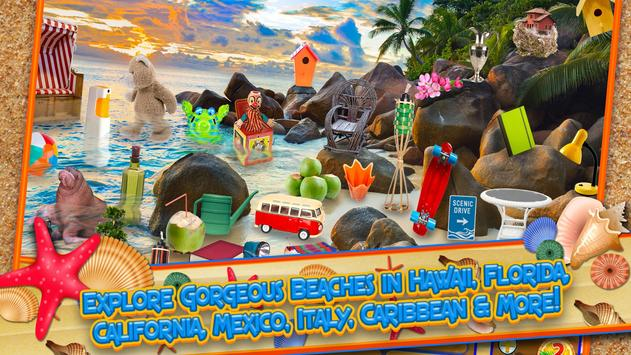 Hidden Objects Summer Beach - Hawaii Object Game screenshot 11