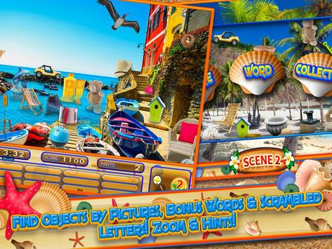 Hidden Objects Summer Beach - Hawaii Object Game screenshot 4