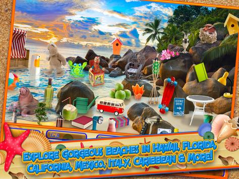 Hidden Objects Summer Beach - Hawaii Object Game screenshot 6