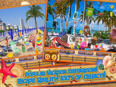 Hidden Objects Summer Beach - Hawaii Object Game screenshot 8