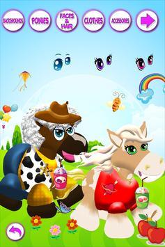 Pretty Pony Dress Up Salon - Fashion Salon Horse poster