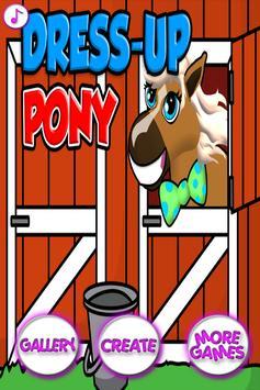 Pretty Pony Dress Up Salon - Fashion Salon Horse screenshot 1