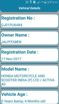 Find Vehicle Owner Detail /RTO Vehicle Information apk screenshot