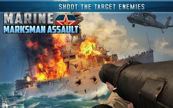 Marine Marksman Assault apk screenshot