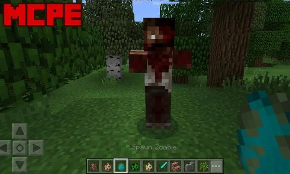 Crafting Dead Mod for Minecraft PE poster