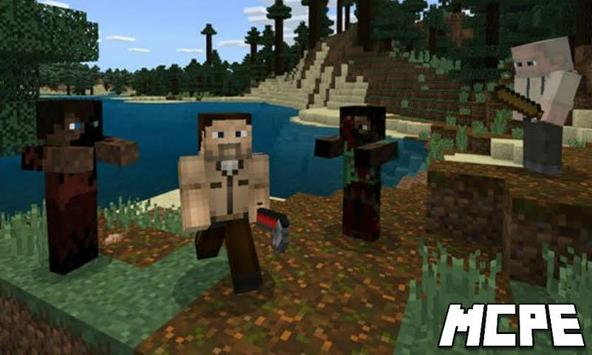 Crafting Dead Mod for Minecraft PE screenshot 1