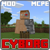 Cyborg Mod for Minecraft PE icon