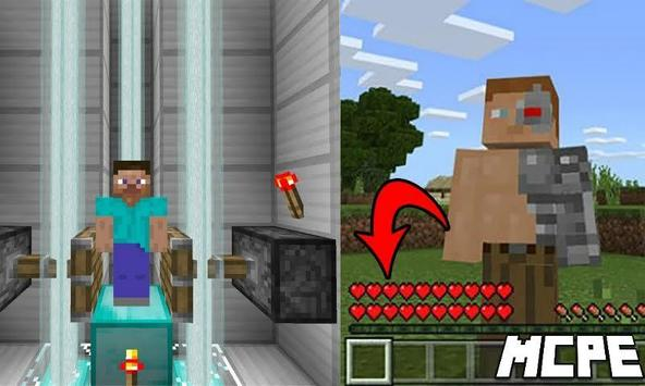 Cyborg Mod for Minecraft PE screenshot 2