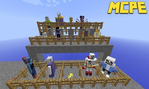 Undertale Mod for Minecraft PE screenshot 1