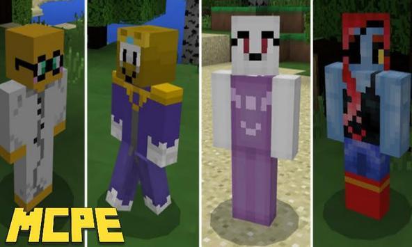 Undertale Mod for Minecraft PE screenshot 2