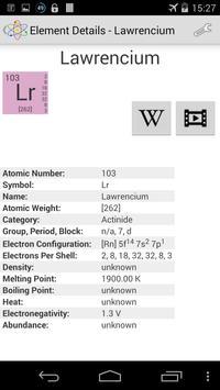 Chemical Elements screenshot 4
