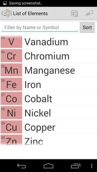 Chemical Elements screenshot 2