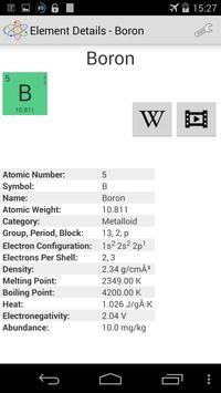 Chemical Elements screenshot 3