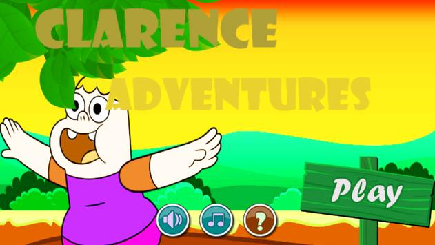 Clarence Adventures poster