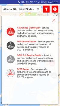 DEUTZ Corp Service Locator screenshot 1