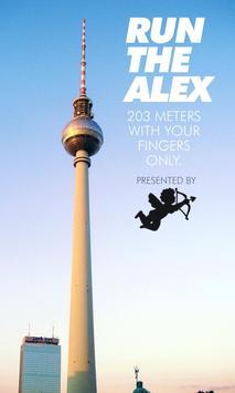 RUN THE ALEX poster