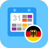 Deutsch Kalender 2018 icon